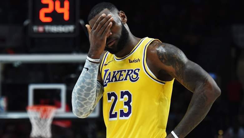 Lakers LeBron James