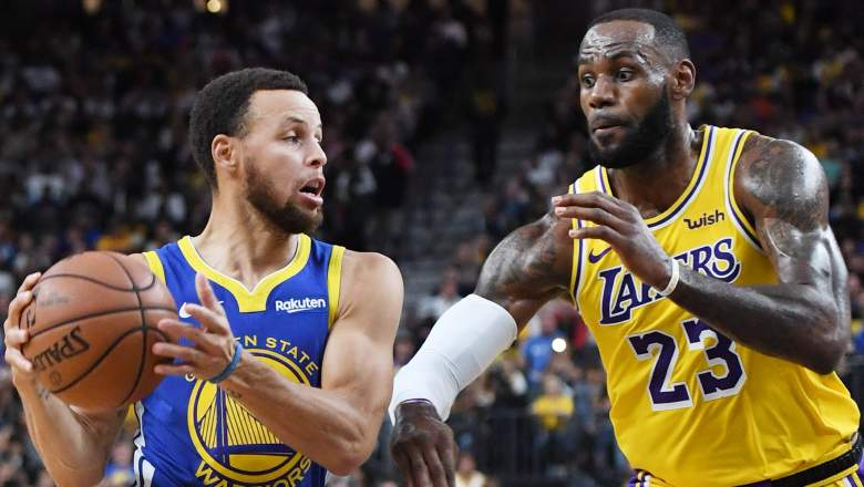 Lakers Warriors Play-in