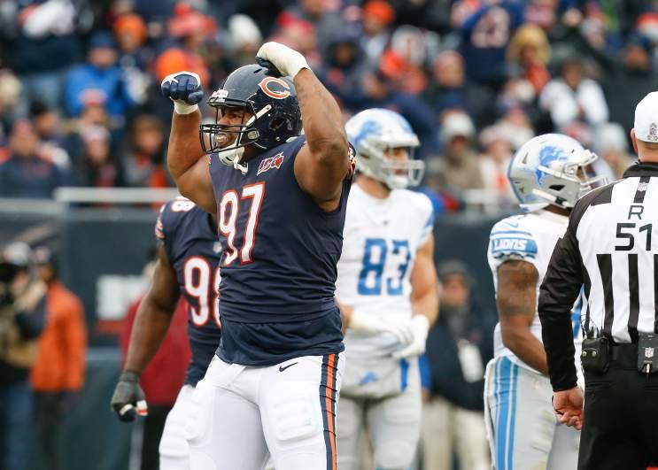 Nick Williams Bears Lions