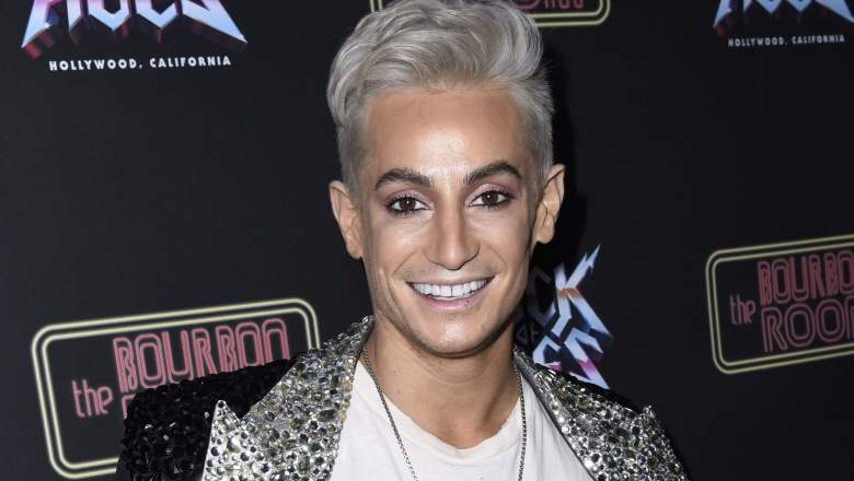 Frankie Grande attends Opening Night Of Rock Of Ages Hollywood at The Bourbon Room
