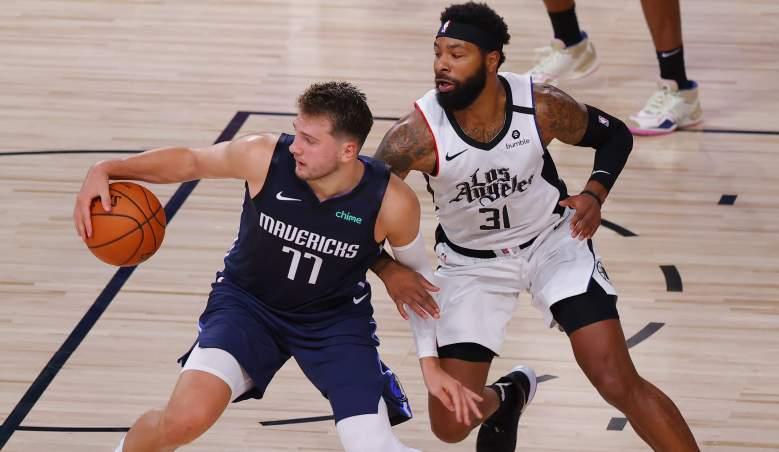 Clippers Mavericks watch