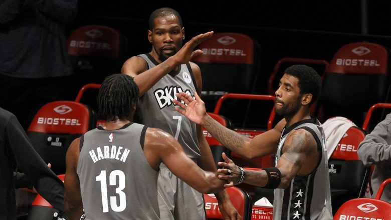 Kevin Durant and James Harden sound off on Kyrie Irving incident