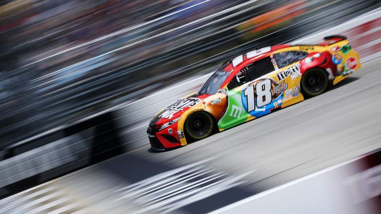 Major Mechanical Issue Disrupts Kyle Busch's Day