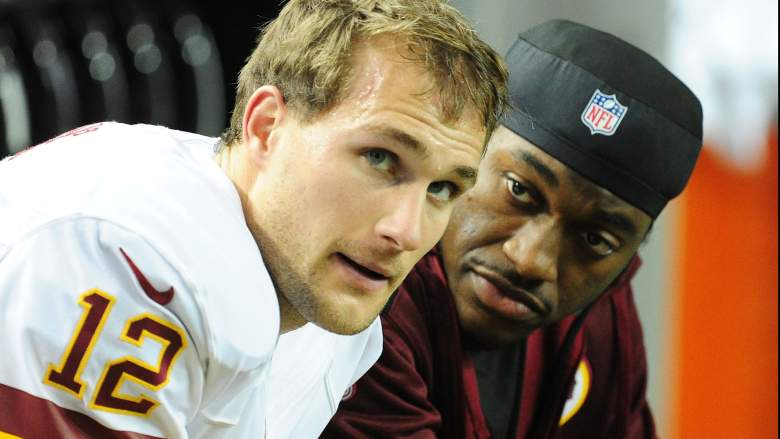 Kirk Cousins and RGIII