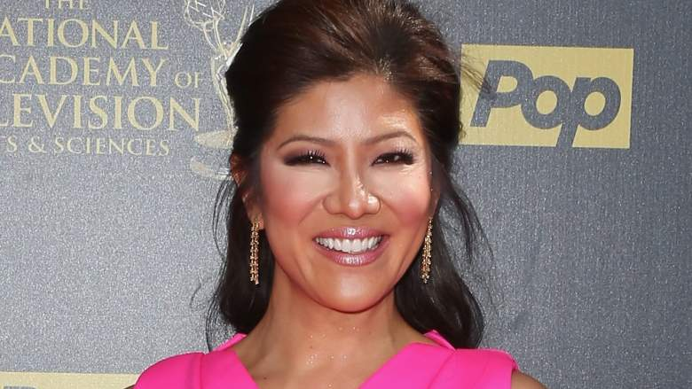TV personality Julie Chen attends The 42nd Annual Daytime Emmy Awards