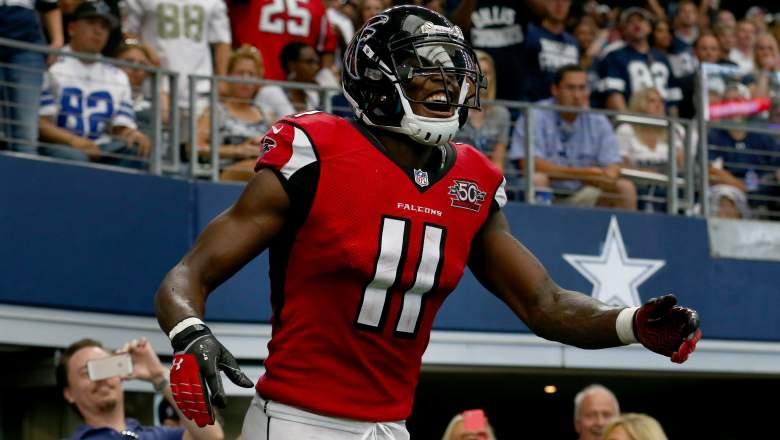Falcons WR Julio Jones vs. Cowboys