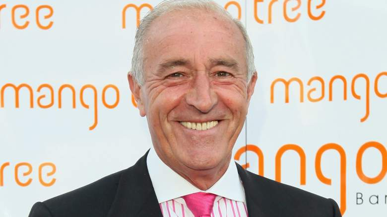 Len Goodman arrives for 'An Audience With Beverley Knight' at the Mango Tree restaurant in London