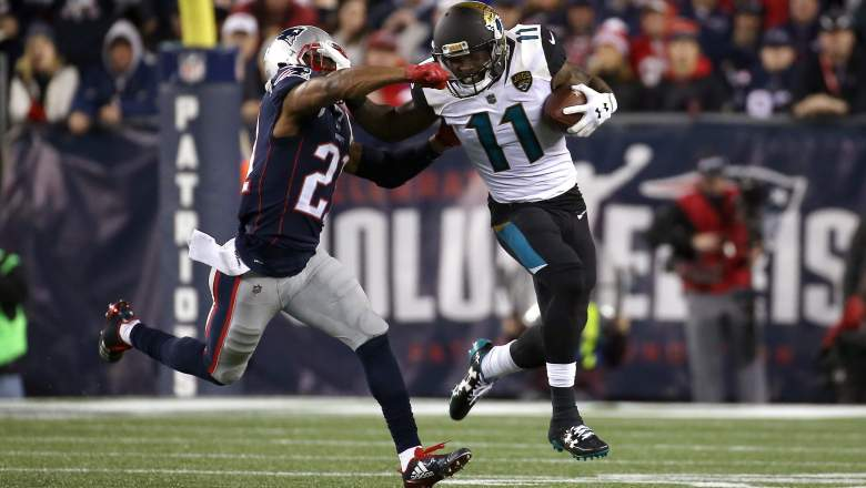 Marqise Lee Patriots 49ers
