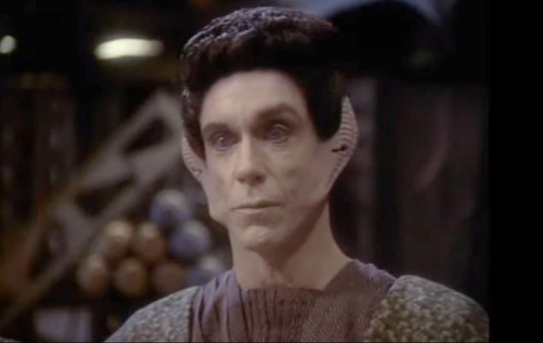 """The Vorta Yelgrun in """"Star Trek: Deep Space Nine"""""""