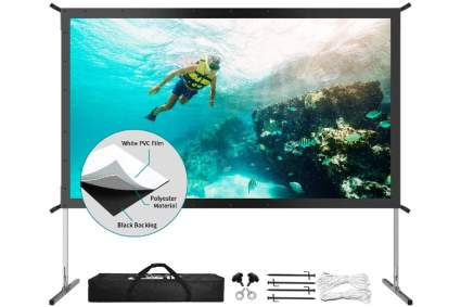 JWSIT Store 120-Inch Foldable Projection Screen