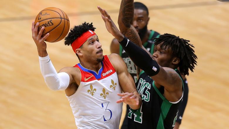Josh Hart Pelicans Celtics