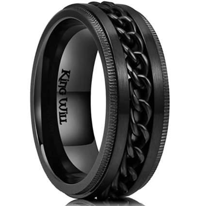 King Will Intertwine 8mm Fidget Ring