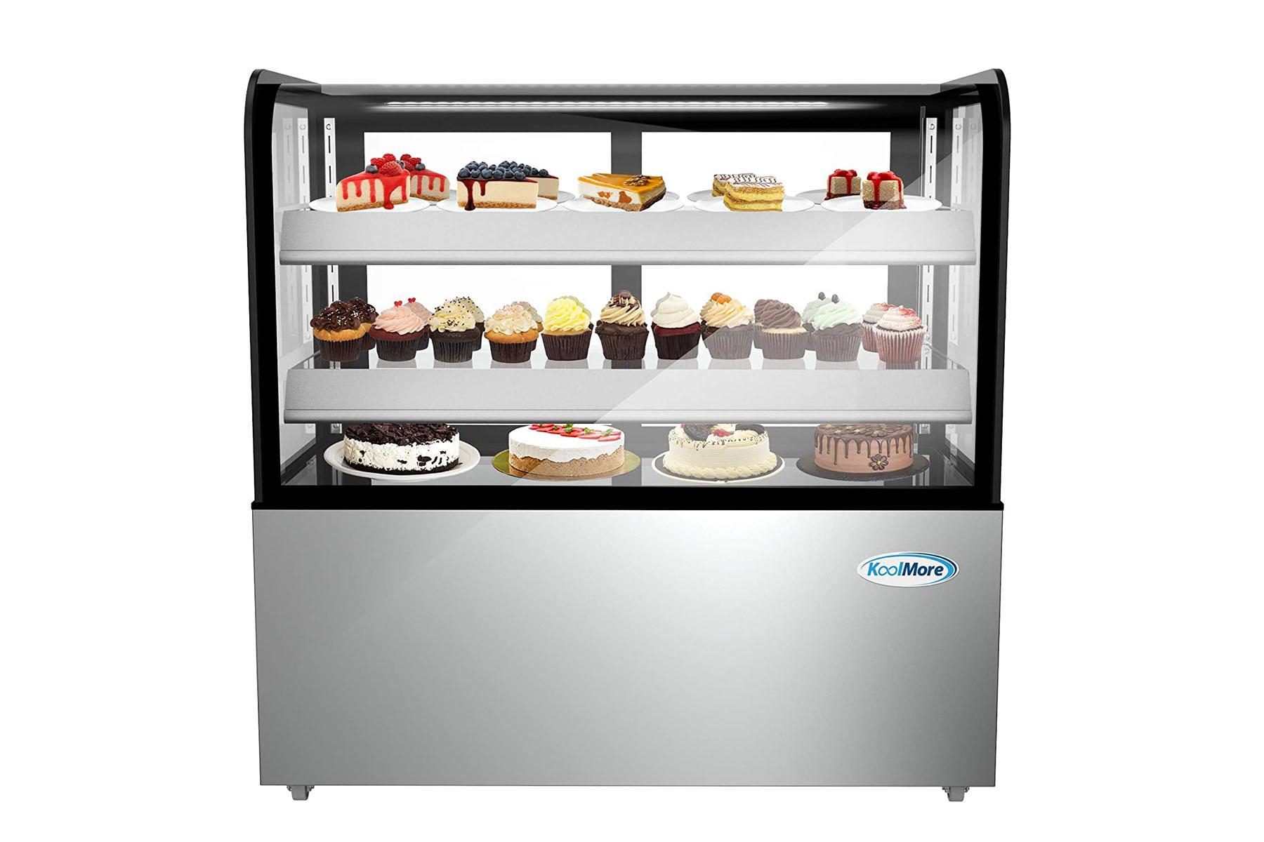 Electric Display Fridge// Countertop// Display Fridge Cake Fridge
