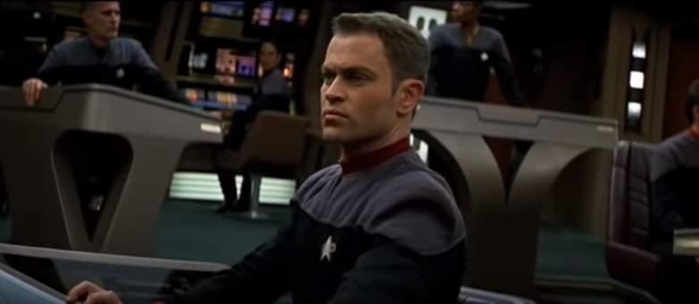 "Neal McDonough as Lieutenant Hawk in ""Star Trek: First Contact"""