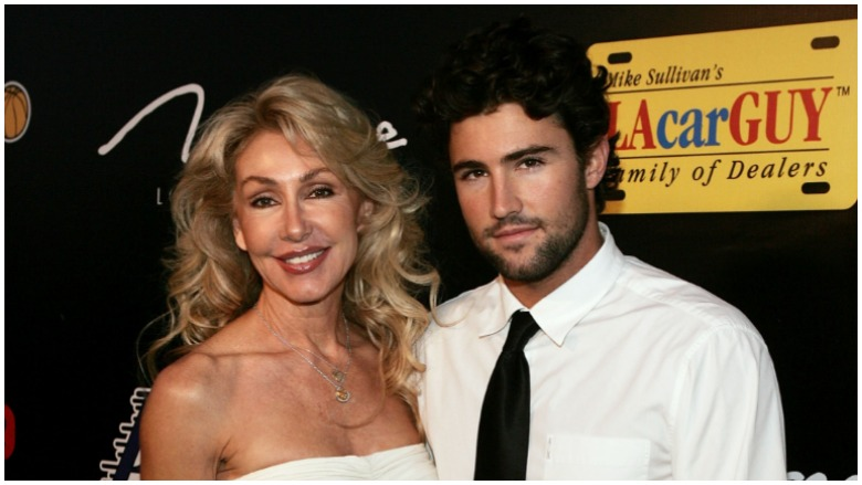 Linda Thompson and son Brody Jenner