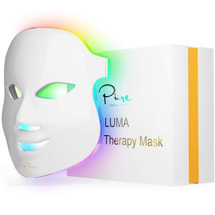 Luma LED skin light therapy mask