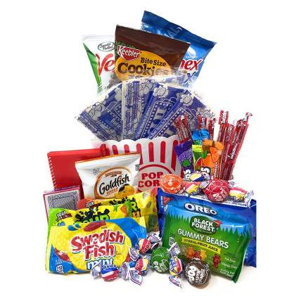 Movie and Game Night Gift Basket