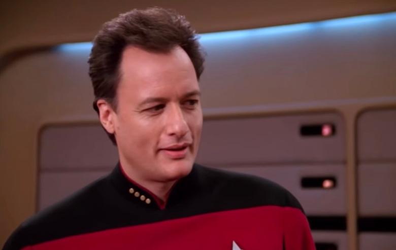 "John de Lancie as Q in ""Star Trek: The Next Generation"""