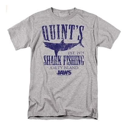 Quint's Shark Fishing Jaws T-Shirt