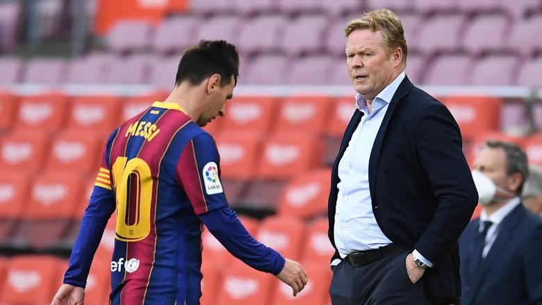 onald Koeman and Lionel Messi