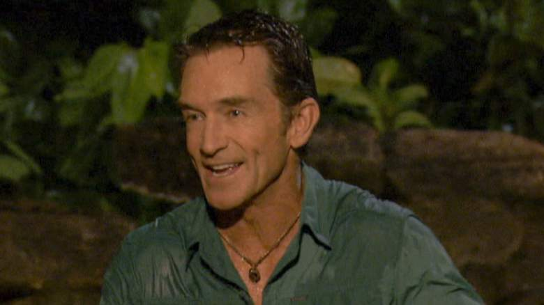 Jeff Probst at Tribal Council during 'Survivor: Winners at War'