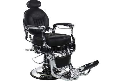 Black vintage style Kenzo barber chair