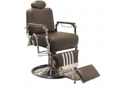 Brown SkinAct Theo barber chair