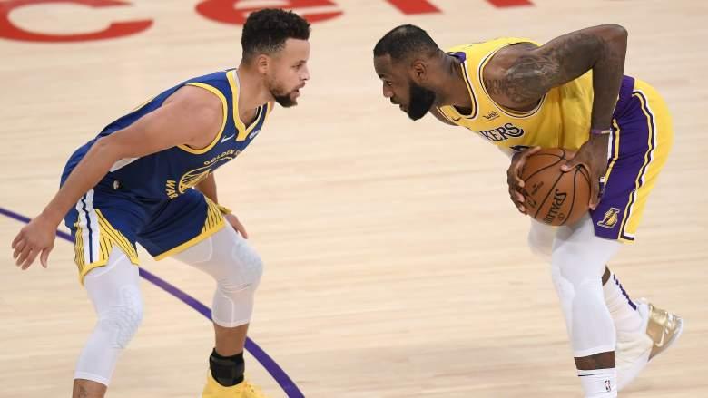 Lakers vs. Warriors