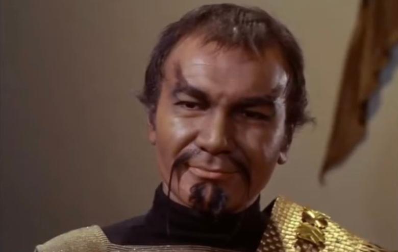 """Klingon from """"Star Trek: The Original Series"""""""