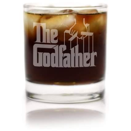 The Godfather Movie Whiskey Glass