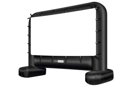 VIVOHOME 14-Feet Indoor and Outdoor Inflatable Blow Up Mega Movie Projector Screen
