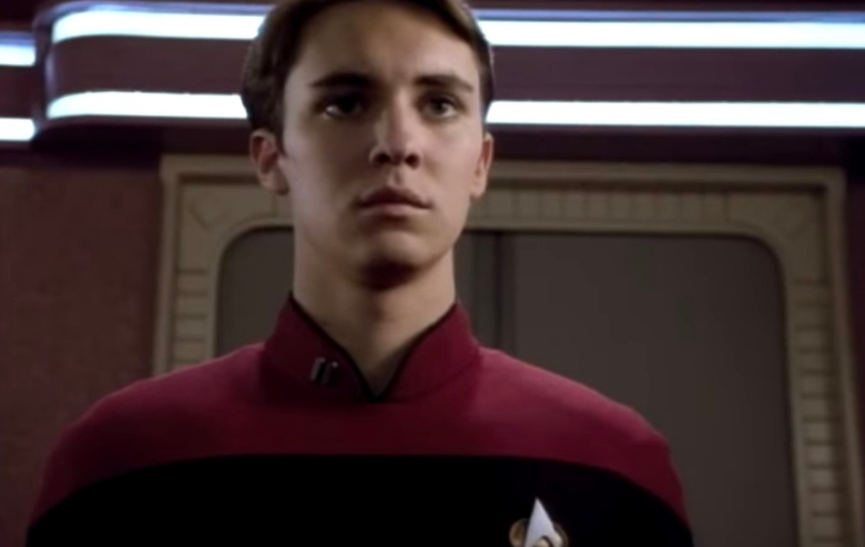 """Wil Wheaton as Wesley Crusher on """"Star Trek: The Next Generation"""""""