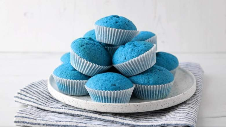 blue poop challenge