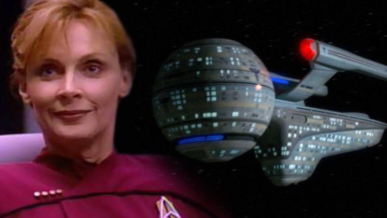 Captain Beverly Picard and the U.S.S. Pasteur.