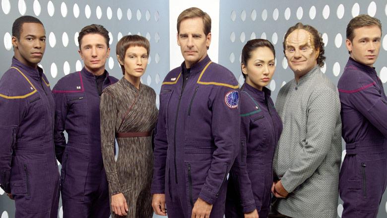 """The cast of """"Star Trek: Enterprise"""""""