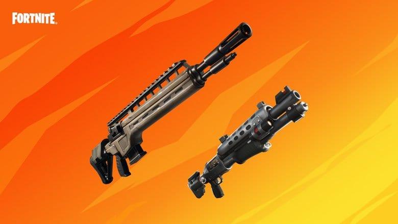 fortnite infantry rifle tactical shotgun