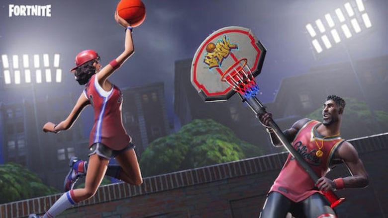 fortnite nba team battles