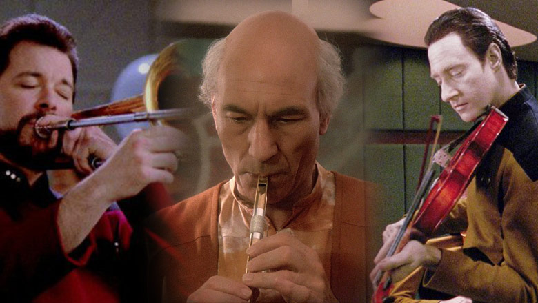 """The characters and the instruments of """"Star Trek: The Next Generation"""""""