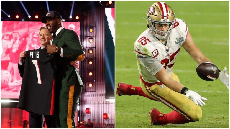 Kyle Pitts George Kittle
