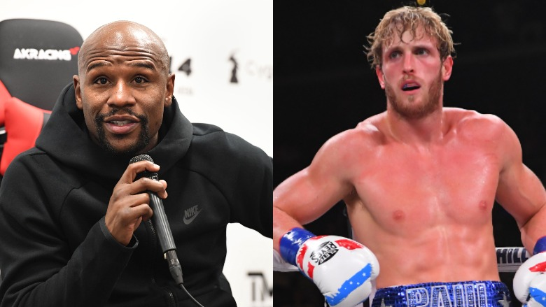 Floyd Mayweather and Logan Paul
