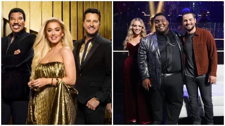 American Idol Judges Katy Perry, Luke Bryan and Lionel Richie.