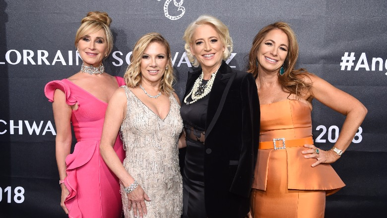 The Real Housewives of New York pose for a photo.