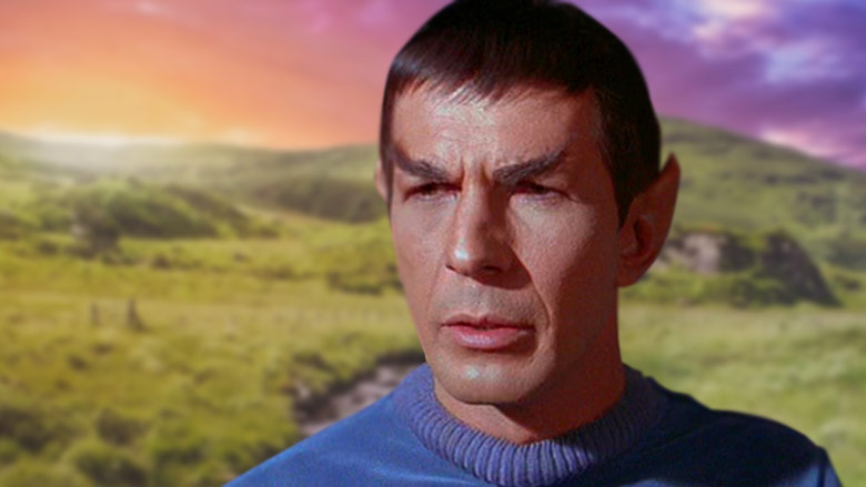 Could Spock's ears have been inspired by a painting in Ireland?