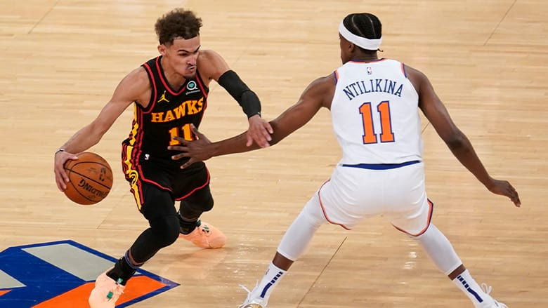 trae young game winner knicks