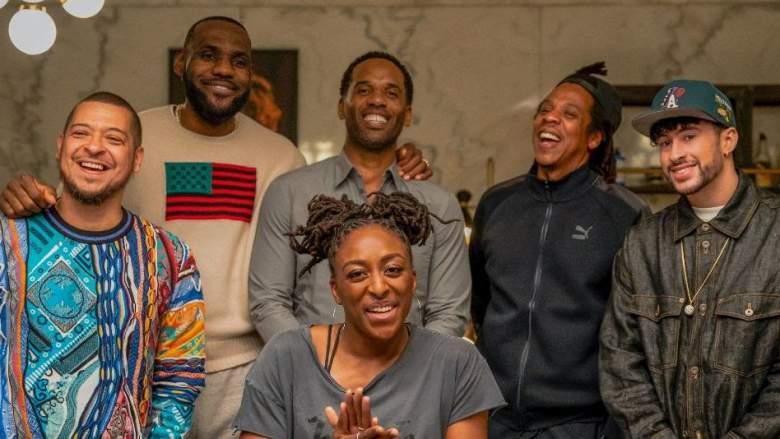 'The Shop' featuring Lebron James, Maverick Carter and Jay-Z