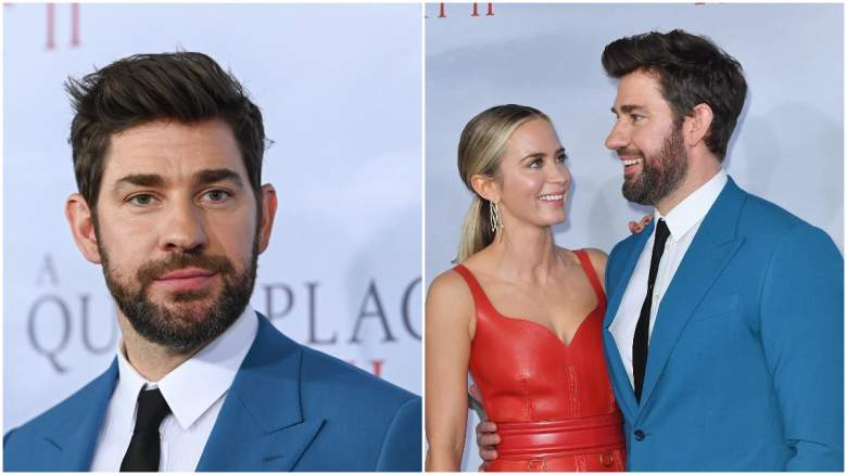 what happened to john krasinski in a quiet place 2