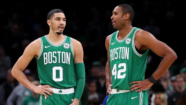 Al Horford Jayson Tatum Celtics