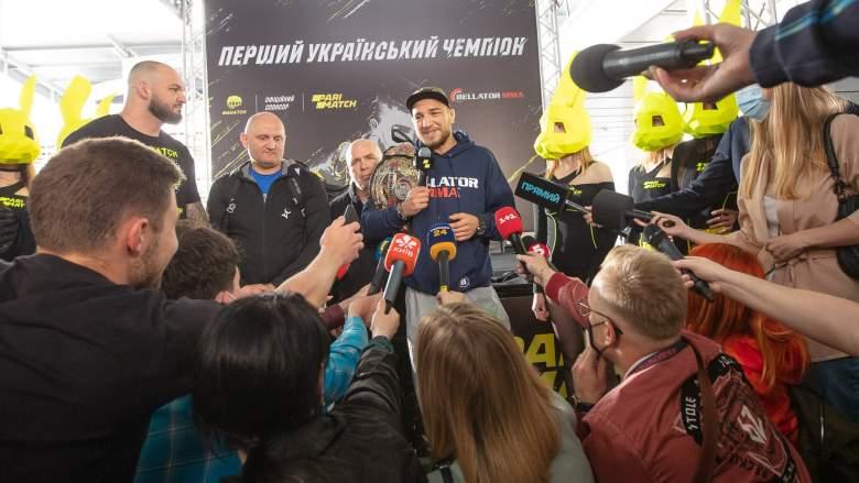 Bellator's Yaroslav Amosov