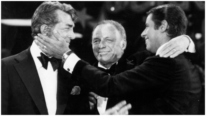 Dean Martin, Frank Sinatra and Jerry Lewis