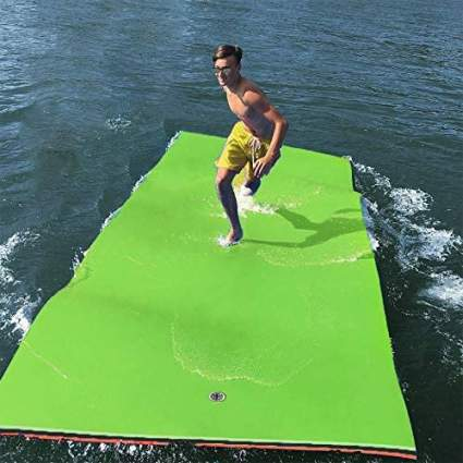 GOOGIC 12' x 6' Floating Water Pad